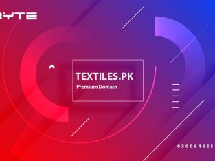 Textiles.pk premium domain for sale in Pakistan